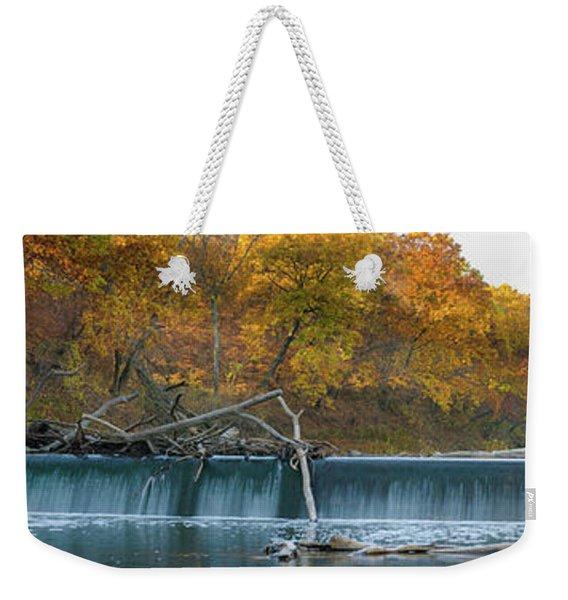 Miller's Dam Pano Weekender Tote Bag