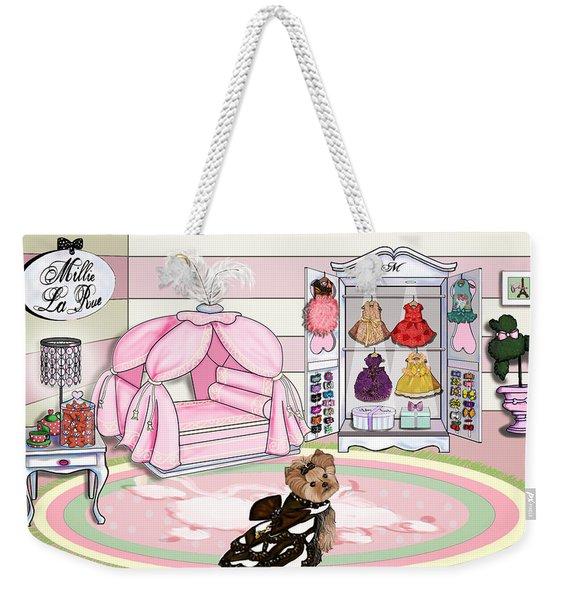 Millie Larue's French Room Weekender Tote Bag