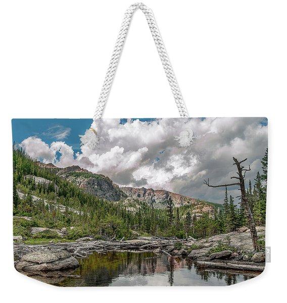 Mills Lake 5 Weekender Tote Bag