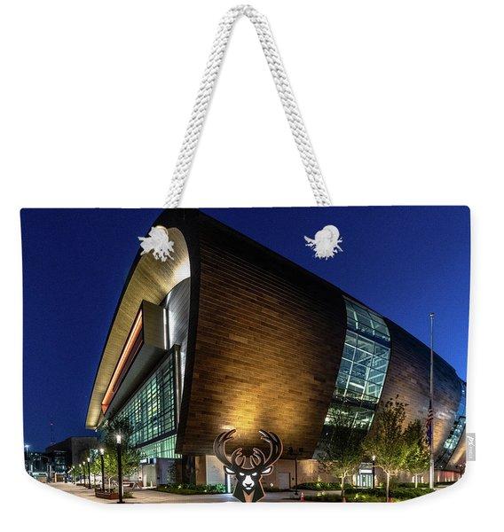 Milwaukee Bucks Weekender Tote Bag