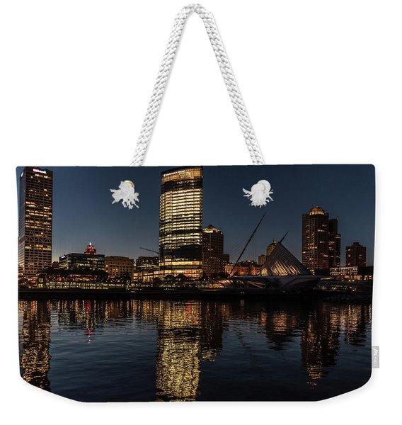 Milwaukee Reflections Weekender Tote Bag