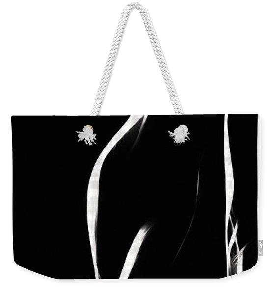 Mind Art Girl  Weekender Tote Bag