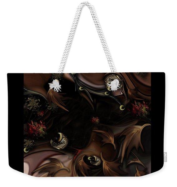 Mind-bending Nature Weekender Tote Bag