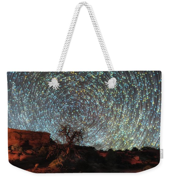 Mind Bending Weekender Tote Bag