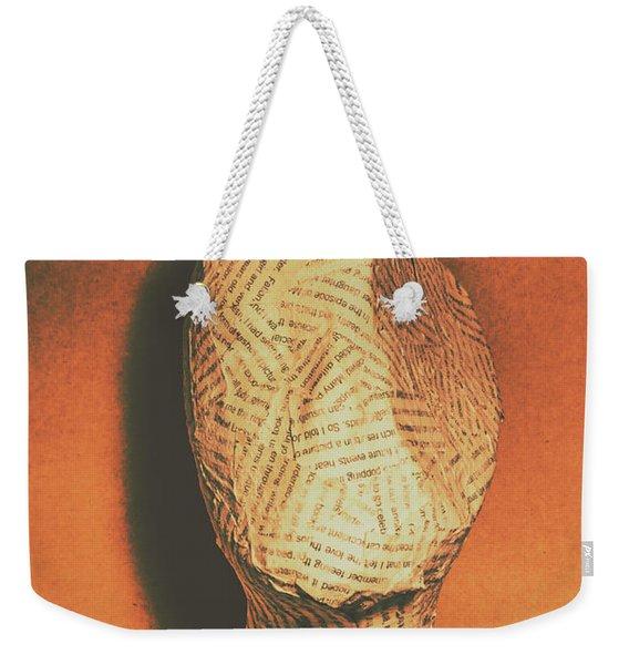 Mind Of A Philosopher Weekender Tote Bag