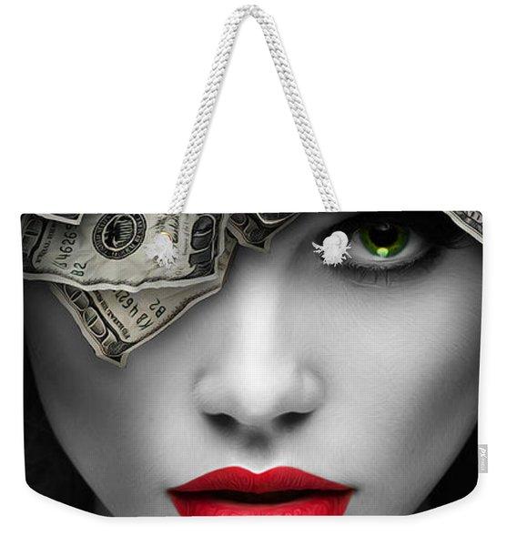 Mind On The Money Weekender Tote Bag