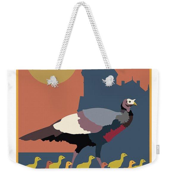 Mind Your Speed Weekender Tote Bag