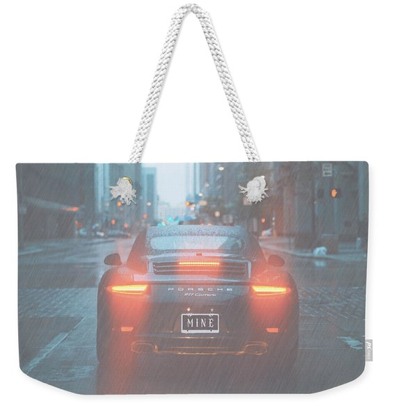 Mine In The Rain Weekender Tote Bag