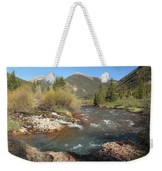 Mineral Creek Weekender Tote Bag