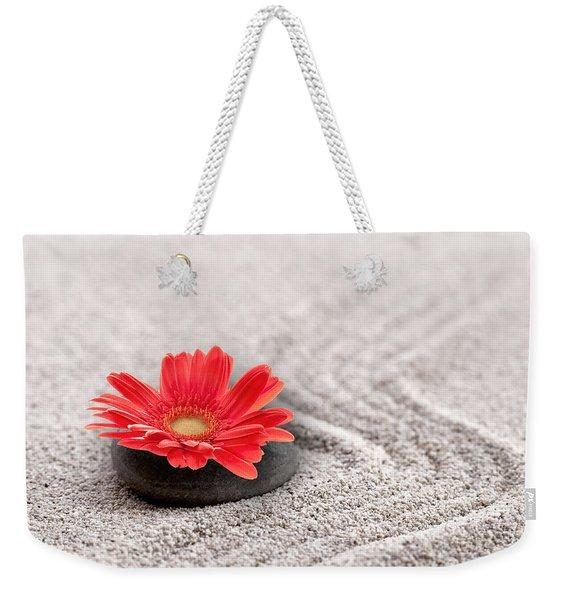 Mineral Flower Weekender Tote Bag