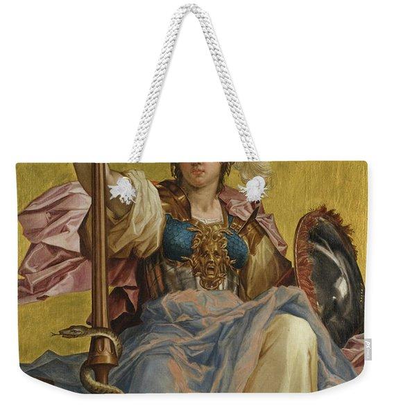 Minerva Weekender Tote Bag