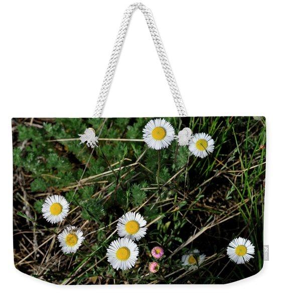 Mini Daisies Weekender Tote Bag