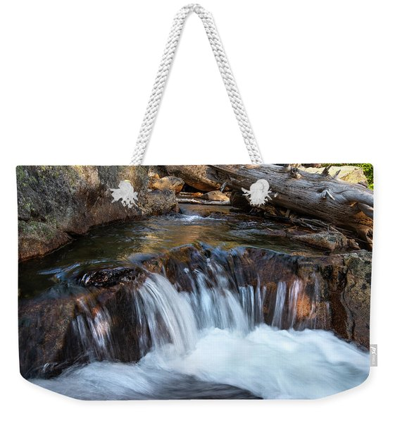 Mini-fall At Eagle Falls Weekender Tote Bag