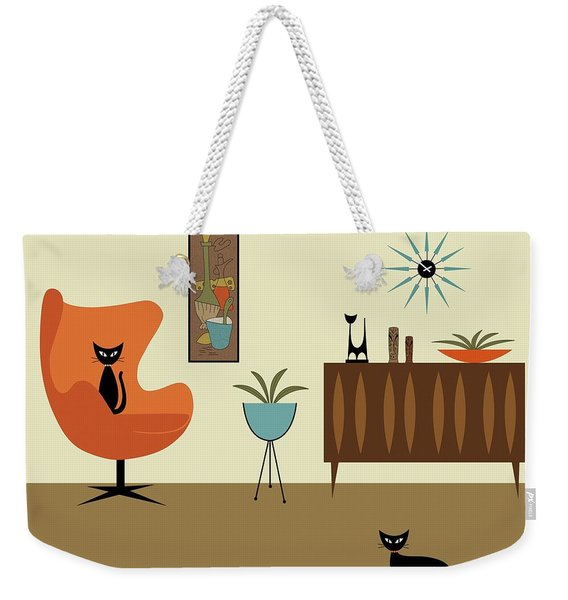 Weekender Tote Bag featuring the digital art Mini Gravel Art 3 by Donna Mibus