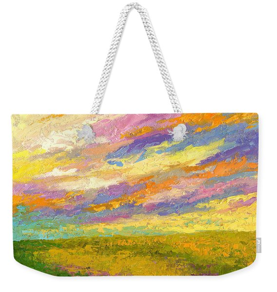Mini Landscape V Weekender Tote Bag