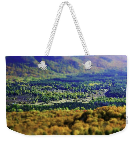 Mini Meadow Weekender Tote Bag
