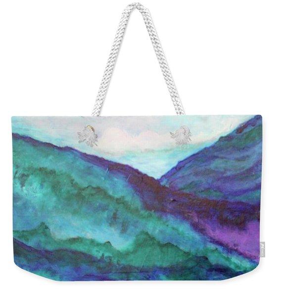 Mini Mountains Majesty Weekender Tote Bag