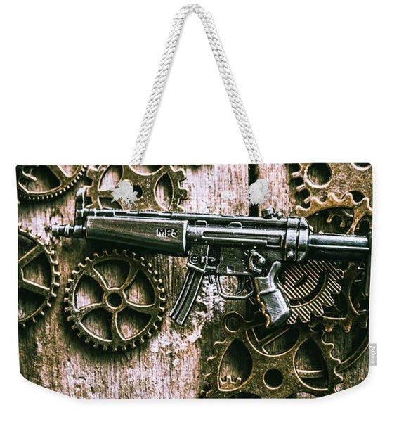 Miniature Mp5 Submachine Gun Weekender Tote Bag