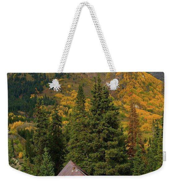 Mining Shack Weekender Tote Bag