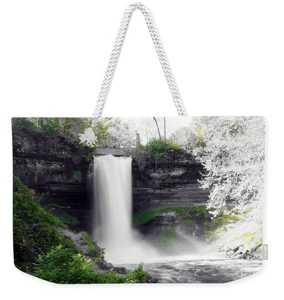 Minne Haha Falls Weekender Tote Bag
