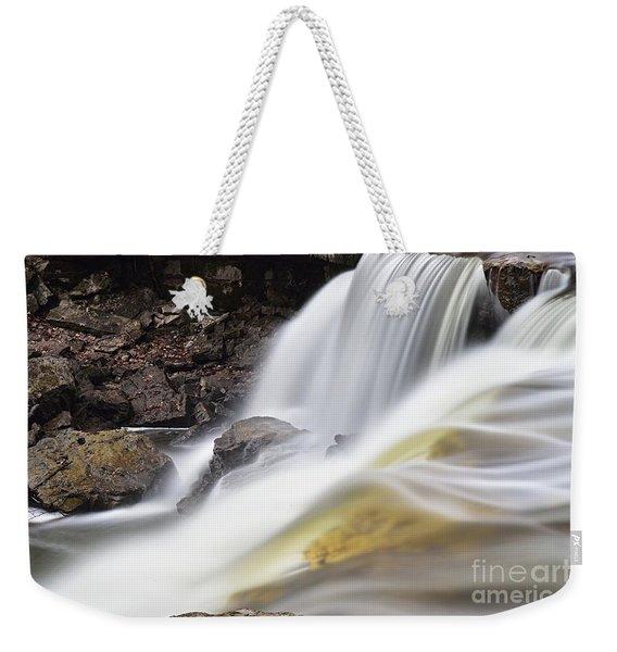 Minneopa Falls Closeup Weekender Tote Bag
