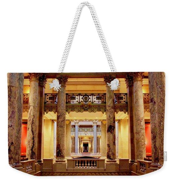 Minnesota Capitol Supreme Court Weekender Tote Bag