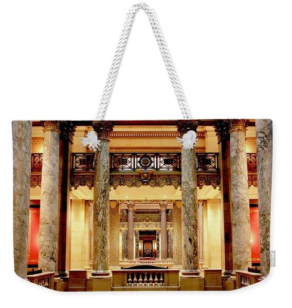 Minnesota Capitol Senate Weekender Tote Bag
