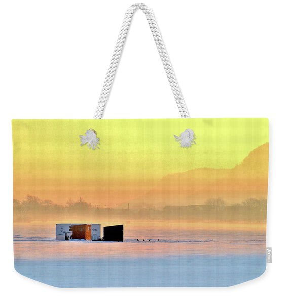 Minnesota Sunrise Weekender Tote Bag