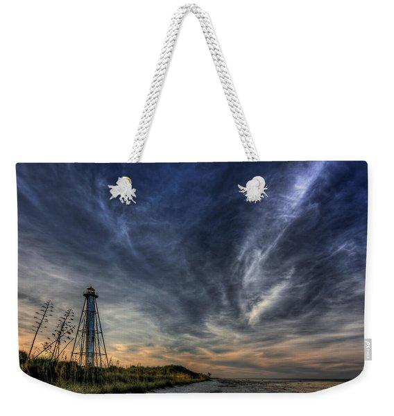 Minor Earth. Major Sky. Weekender Tote Bag