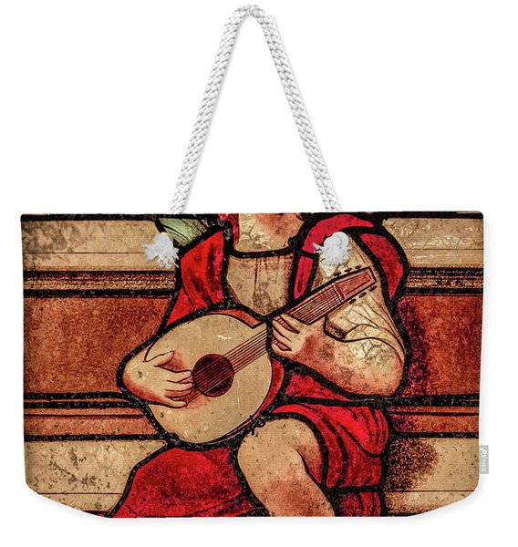 Paris, France - Minstrel Angel Weekender Tote Bag