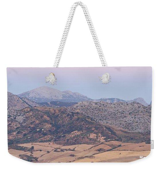 Mirador De Ronda At Dawn Weekender Tote Bag