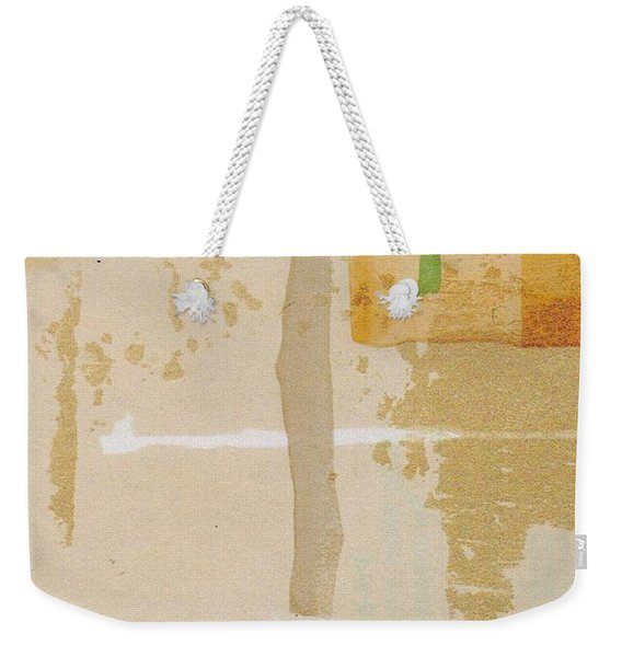 Weekender Tote Bag featuring the mixed media Mirage by Writermore Arts