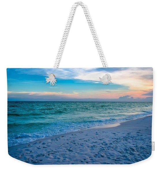 Miramar Blue  Weekender Tote Bag