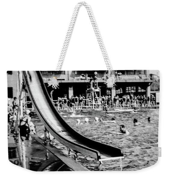Miramar Pool  Weekender Tote Bag