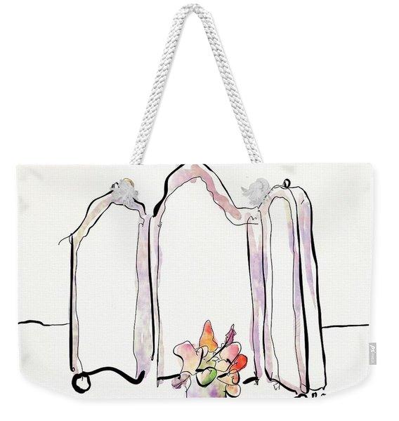 Sketch Mirror Weekender Tote Bag