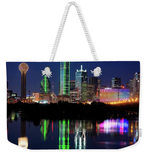 Mirror Colors Skyline Weekender Tote Bag