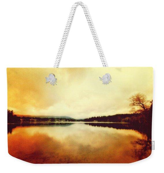 Mirror Lake At Sunset Weekender Tote Bag