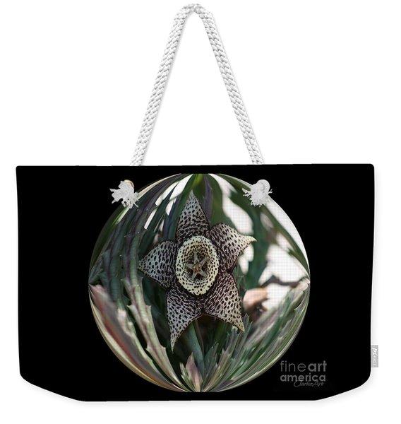 Captured Carrion Succulent Weekender Tote Bag