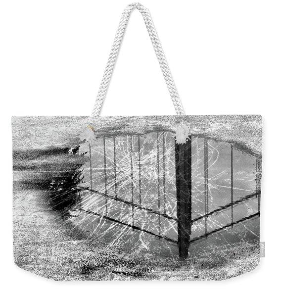 Mirroring The Bridge Weekender Tote Bag