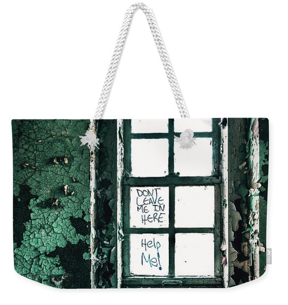 Misery Screams Weekender Tote Bag