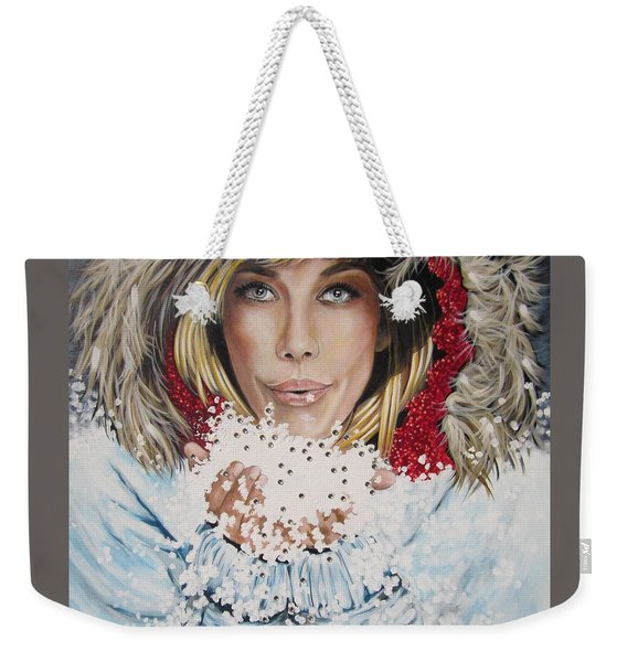 Remarkable Russian Girl.            From The Attitude Girls  Weekender Tote Bag