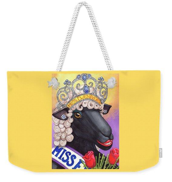 Miss Eweniverse Weekender Tote Bag
