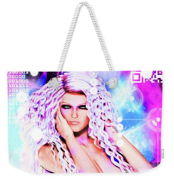 Miss Inter-dimensional 2089 Weekender Tote Bag