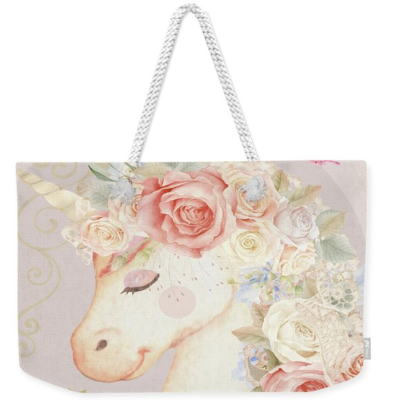 Miss Lilly Unicorn Weekender Tote Bag