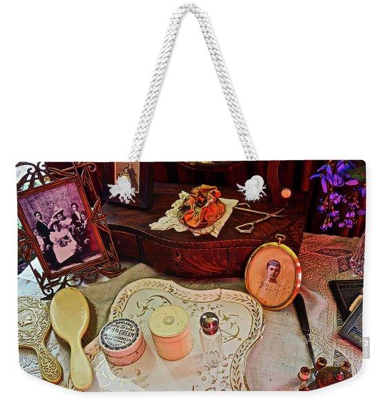 Miss Mary's Table. Weekender Tote Bag