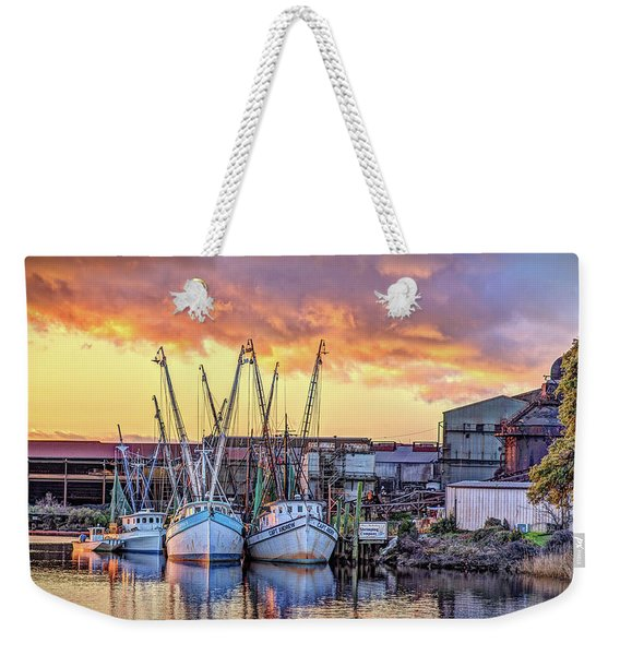 Miss Nichole's Shrimping Company Weekender Tote Bag