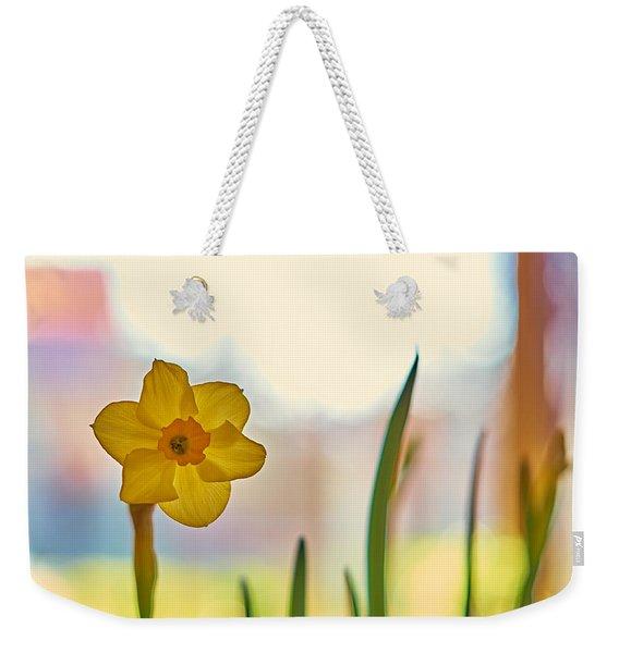 Miss Yellow Weekender Tote Bag
