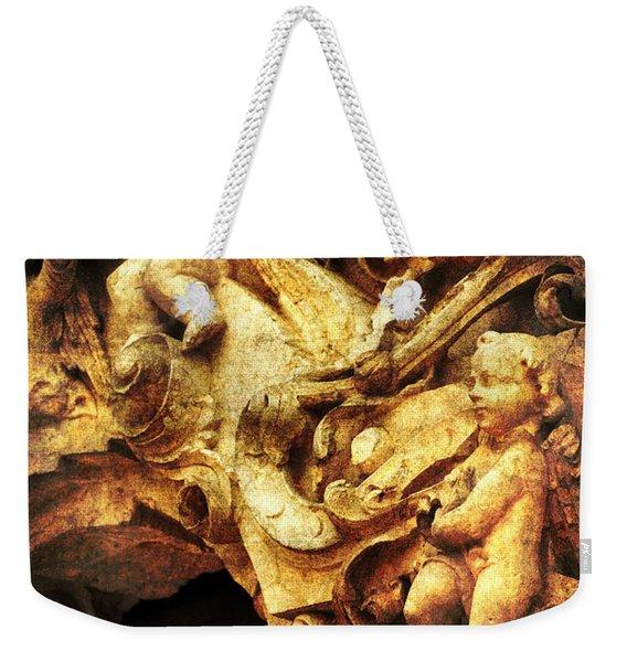 Mission Cherubs Weekender Tote Bag