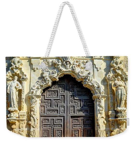 Mission Door Weekender Tote Bag