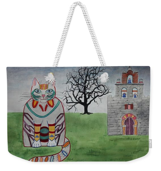 Mission Espada Cat Weekender Tote Bag